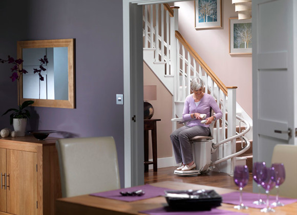 Stairlifts Stannah Starla- 260- curved for Wilmington DE