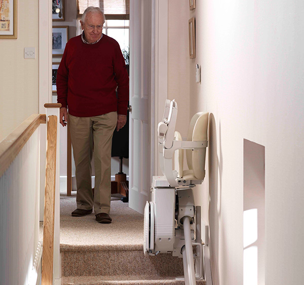Stairlifts-folded-Stannah-top-of-stairs-faq