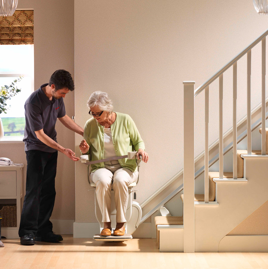 Stannah Stairlift in Philadelphia, Wilmington, South Jersey, Cherry Hill, Marlton,